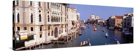 Grand Canal, Venice, Italy--Stretched Canvas Print