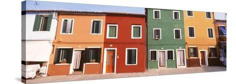 Burano, Venice, Italy--Stretched Canvas Print