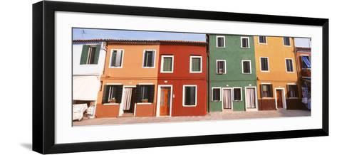Burano, Venice, Italy--Framed Art Print