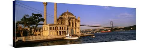 Mosque, Ortakoy, Istanbul, Turkey--Stretched Canvas Print