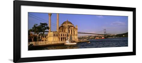 Mosque, Ortakoy, Istanbul, Turkey--Framed Art Print