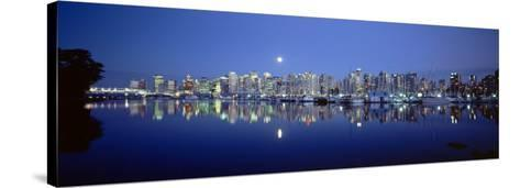 Vancouver Skyline, British Columbia, Canada--Stretched Canvas Print