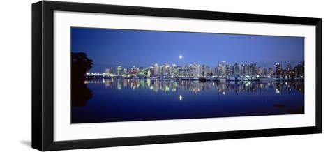 Vancouver Skyline, British Columbia, Canada--Framed Art Print