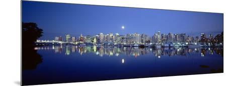 Vancouver Skyline, British Columbia, Canada--Mounted Photographic Print