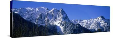 Cascade Mountains, Washington State, USA--Stretched Canvas Print