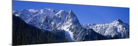 Cascade Mountains, Washington State, USA--Mounted Photographic Print