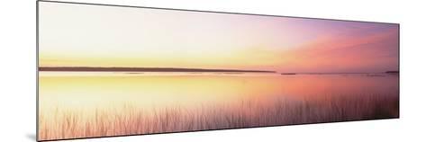 Sunrise, Lake Michigan, Door County, Wisconsin, USA--Mounted Photographic Print