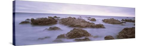 Rock Formation on the Coast, Mendocino, California, USA--Stretched Canvas Print