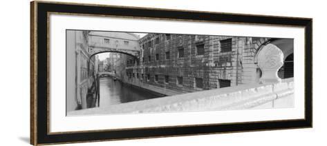 Bridge Over a Canal, Bridge of Sighs, Venice, Italy--Framed Art Print