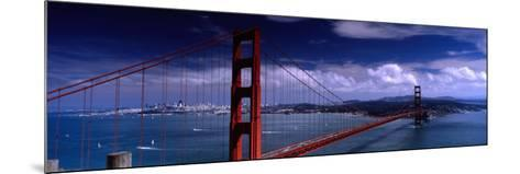Bridge Over a River, Golden Gate Bridge, San Francisco, California, USA--Mounted Photographic Print