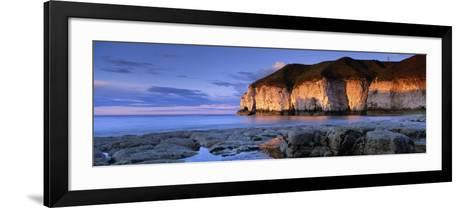 Clouds Over the Sea, Thornwick Bay, Yorkshire, England, United Kingdom--Framed Art Print