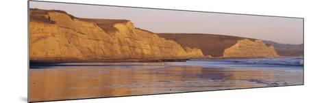Rock Formation on the Beach, Drake's Beach, Point Reyes National Seashore, California, USA--Mounted Photographic Print