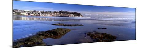 Town at the Waterfront, Scarborough, South Bay, North Yorkshire, England, United Kingdom--Mounted Photographic Print