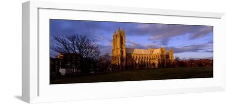 Facade of Cathedral, Beverley Minster, Beverley, Yorkshire, England, United Kingdom--Framed Art Print
