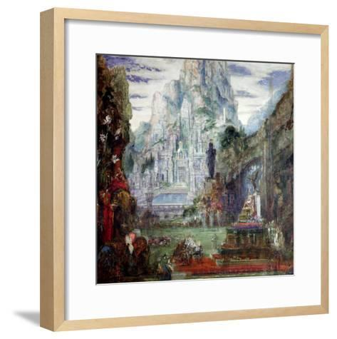 The Triumph of Alexander the Great-Gustave Moreau-Framed Art Print