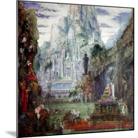 The Triumph of Alexander the Great-Gustave Moreau-Mounted Giclee Print