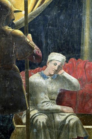 The Dream of Constantine, Completed 1464-Piero della Francesca-Stretched Canvas Print