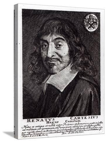 Portrait of Rene Descartes-Frans Hals-Stretched Canvas Print