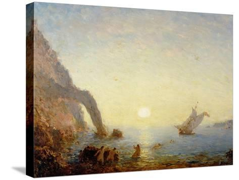 The Call of the Sirens-Felix Ziem-Stretched Canvas Print