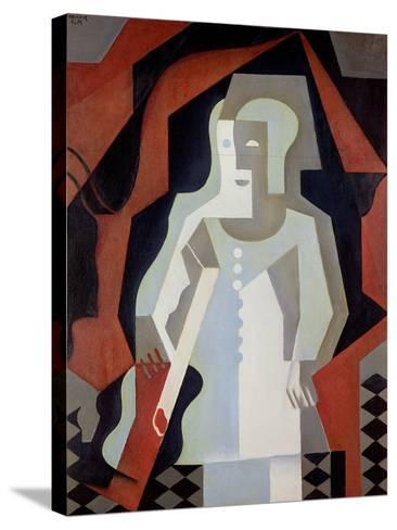 Pierrot, 1919-Juan Gris-Stretched Canvas Print