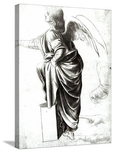 Study of an Angel-Leonardo da Vinci-Stretched Canvas Print