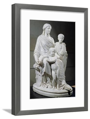 Cornelia, Mother of the Two Gracchi Brothers, 1861 Giclee Print by ...