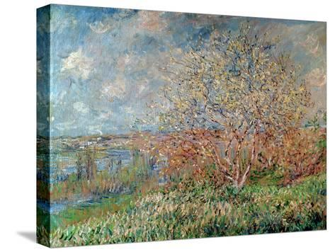 Spring, 1880-82-Claude Monet-Stretched Canvas Print