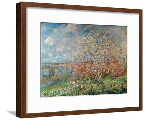 Spring, 1880-82-Claude Monet-Framed Art Print