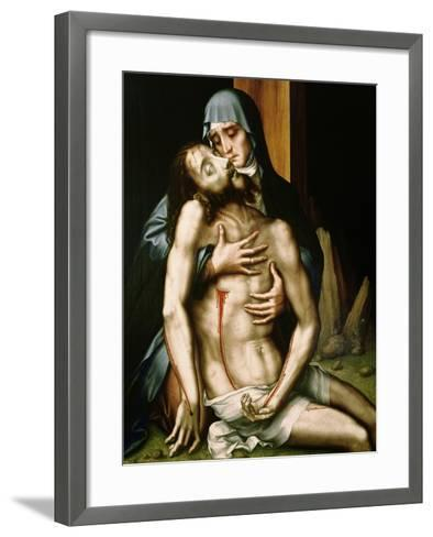 Pieta-Luis De Morales-Framed Art Print
