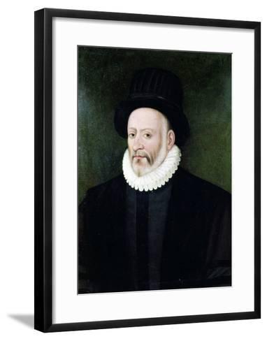 Michel Eyquem de Montaigne-Etienne Martellange-Framed Art Print