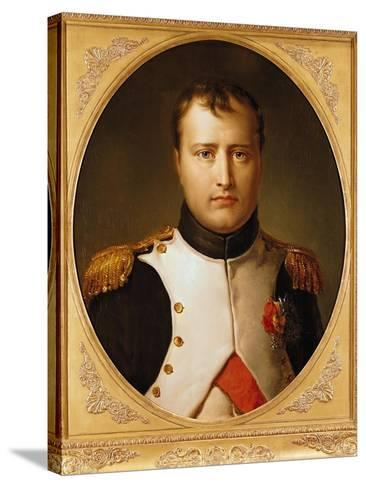 Portrait of Napoleon in Uniform-Francois Gerard-Stretched Canvas Print