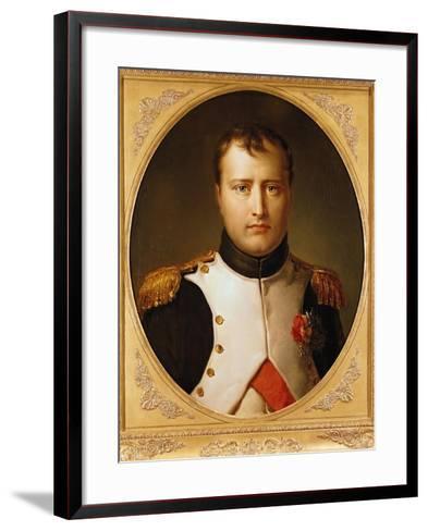 Portrait of Napoleon in Uniform-Francois Gerard-Framed Art Print