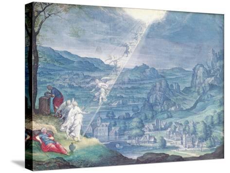 Jacob's Dream-Johann Wilhelm Baur-Stretched Canvas Print