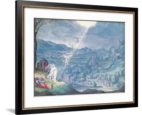 Jacob's Dream-Johann Wilhelm Baur-Framed Art Print