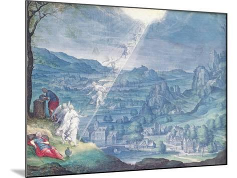 Jacob's Dream-Johann Wilhelm Baur-Mounted Giclee Print