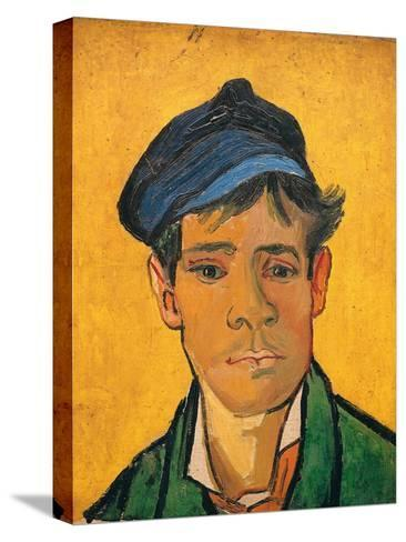 Young Man with a Hat, c.1888-Vincent van Gogh-Stretched Canvas Print