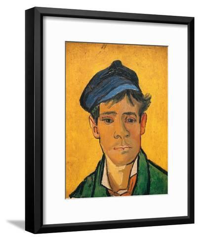 Young Man with a Hat, c.1888-Vincent van Gogh-Framed Art Print