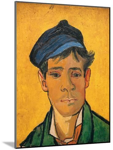 Young Man with a Hat, c.1888-Vincent van Gogh-Mounted Giclee Print