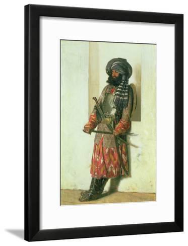 Afghan, 1870-Piotr Petrovitch Weretshchagin-Framed Art Print