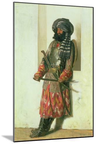 Afghan, 1870-Piotr Petrovitch Weretshchagin-Mounted Giclee Print