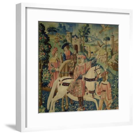 Leaving for the Hunt--Framed Art Print