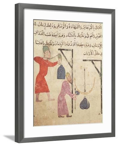 Weighing Merchandise, from Old Cairo--Framed Art Print
