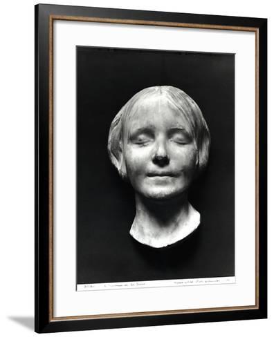"""L'Inconnue de La Seine""""--Framed Art Print"""