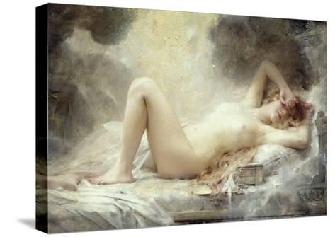 Golden Rain-Leon Francois Comerre-Stretched Canvas Print