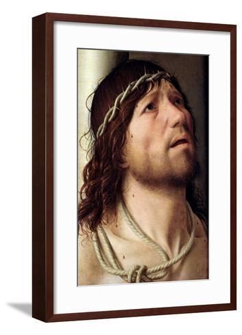 Christ at the Column, circa 1475-Antonello da Messina-Framed Art Print