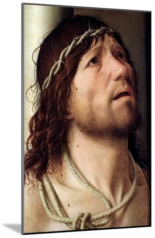 Christ at the Column, circa 1475-Antonello da Messina-Mounted Giclee Print