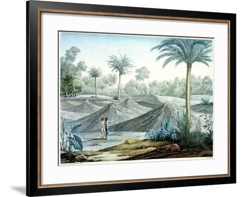 Volcanoes in the Region of Turbaco-Louis De Rieux-Framed Art Print