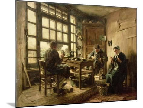 The Cobblers, 1880-L?on Augustin L'hermitte-Mounted Giclee Print
