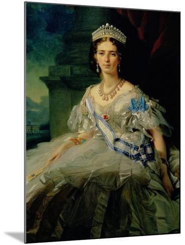 Portrait of Princess Tatiana Alexanrovna Yusupova, 1858-Franz Xaver Winterhalter-Mounted Giclee Print
