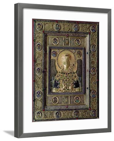 Icon Depicting the Archangel Michael, 11th to 12th Centuries--Framed Art Print